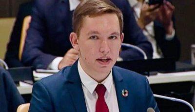 Un tânăr din Moldova a devenit consilierul Secretarului General al ONU