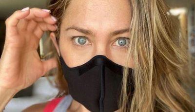 Jennifer Aniston a publicat o imagine șocantă pentru a demonstra că există noul coronavirus