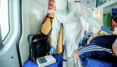 Un bărbat de 54 de ani, care nu suferea de nicio boală, a decedat de pneumonie gravă Covid-19