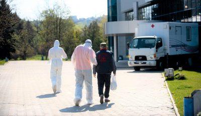117 persoane suspecte la coronavirus, internate în centrul Covid din Chișinău