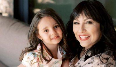 Andra a dat o petrecere de zile mari pentru fiica sa, Eva, care a împlinit 5 ani