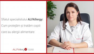 Sfatul specialistului ALFAllergy: Cum protejăm și tratăm copiii care au alergii alimentare