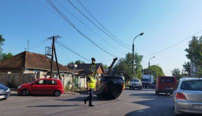 Accident în Capitală provocat de două șoferițe
