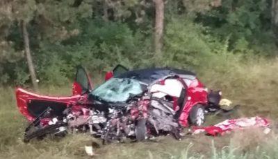 Caz îngrozitor peste Prut. O familie întreagă a fost spulberată pe traseu de către un șofer care a vrut să se sinucidă
