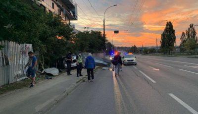 Accident în Capitală: o femeie însărcinată a ajuns la spital din cauza unui șofer beat