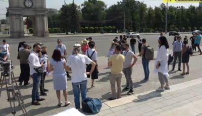 Proteste în Centrul Capitalei. Ce solicită participanții?