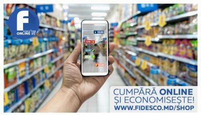 Rețeaua Fidesco a lansat magazinul online cu livrare la domiciliu!