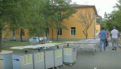 Un spital din Italia a donat mobilier medical pentru spitalul raional Cahul