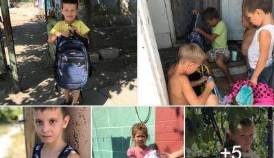 Peste 200 de copii au nevoie de ajutor pentru a putea începe școala!
