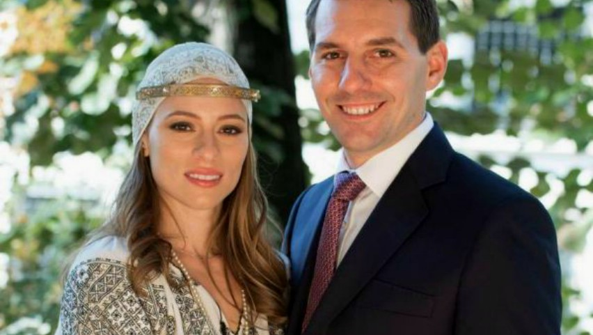 Alina Binder este însărcinată. Nicolae, fostul principe al României, alături de soția sa