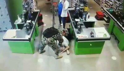 Gest prompt, eroic! Un militar i-a acordat primul ajutor unui bărbat care și-a pierdut cunoștința într-un supermarket din Capitală