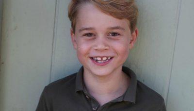 Prinţul George împlinește astăzi vârsta de 7 ani. Pozele publicate de familia regală britanică