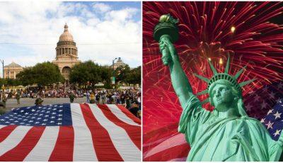 Statele Unite ale Americii sărbătoresc astăzi 244 de ani de independență