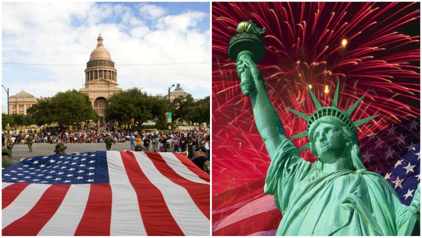 Foto: Statele Unite ale Americii sărbătoresc astăzi 244 de ani de independență