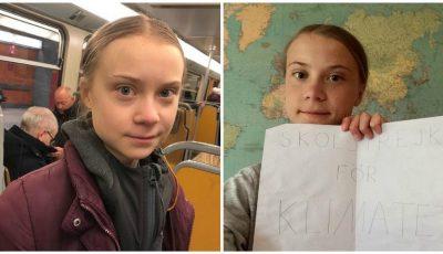 Activista Greta Thunberg a câştigat un milion de euro. Ce vrea adolescenta de 17 ani să facă cu banii?