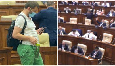Deputatul Dumitru Alaiba a ajuns ținta criticilor pentru felul în care s-a îmbrăcat la Parlament