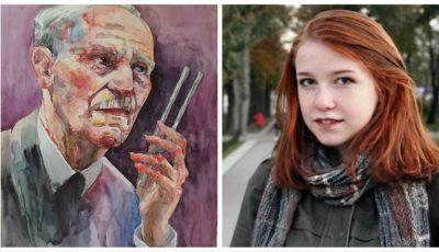 O elevă din Chișinău a obținut premiul I la un concurs internațional de pictură