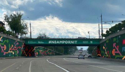 Va arăta altfel! Podul de la Telecentru va fi pictat în stil tradițional