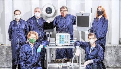 Coronavirus: NASA a creat un ventilator pulmonar portabil ultra-modern, în doar 37 de zile