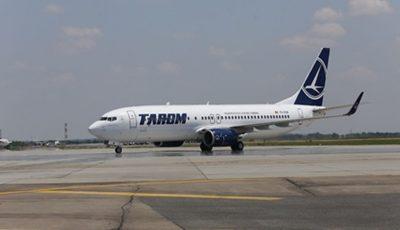Compania Tarom suspendă zborurile spre Republica Moldova