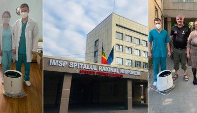 Un moldovean stabilit în Germania a făcut o donație pentru spitalul raional din Nisporeni