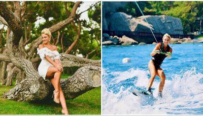 Departe de frică și coronavirus! Natalia Gordienko și fiul ei se bucură de o vacanță frumoasă în Turcia
