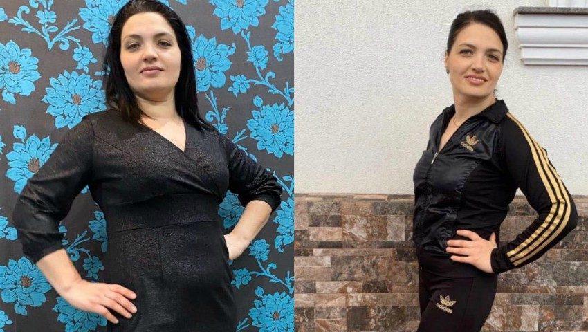 """Natalia a slăbit 15 kg în 3 luni, cu ajutorul proiectului ,,Galina Tomaș îți cumpără kilogramele"""""""