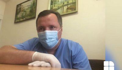 """Medic din prima linie de luptă cu Covid-19: Pacienții vin cu pneumonii extinse, în șoc toxico-septic. ,,Oameni buni, păziți-vă!"""""""