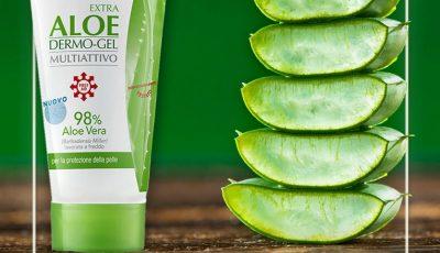 Gelul cu Aloe Vera – aliatul împotriva arsurilor solare, pișcăturilor de țânțari și altor afecțiuni ale pielii