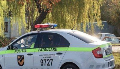 Femeie din Chișinău, lovită pe zebră de către un echipaj de poliție