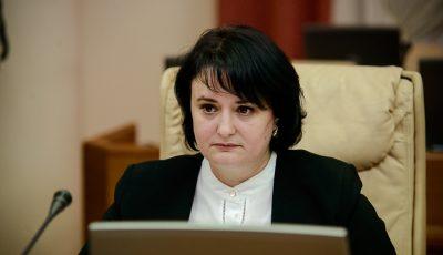 Ministra Sănătății, Viorica Dumbrăveanu, diagnosticată pozitiv cu Covid-19