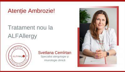 Stop Ambrozie! Tratament nou la ALFAllergy