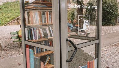 În Elveția, vechile cabine telefonice sunt transformate în mini-biblioteci publice