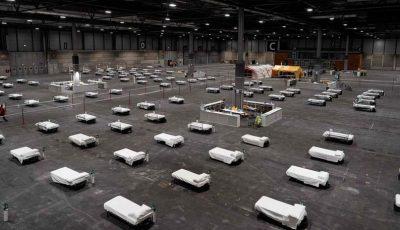 O țară nu mai face față numărului de morți și folosește crematoriu mobil