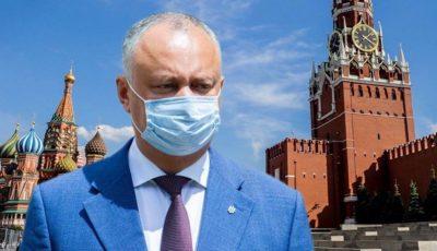 Igor Dodon se află la odihnă, într-un sanatoriu de lângă orașul Moscova