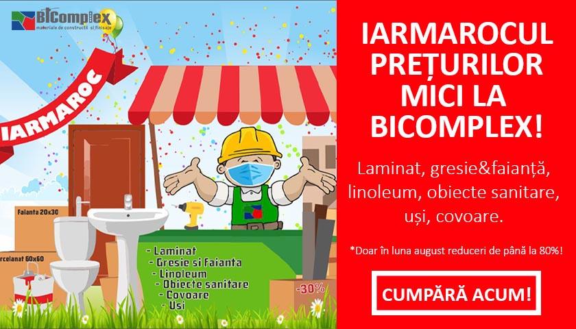 Iarmarocul prețurilor mici începe la Bicomplex, reduceri de până la -80%!