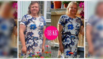 Un rezultat demn de apreciat! Silvia a slăbit deja 18 kg, în cadrul celei de-a 10-a ediții a proiectului ,,Galina Tomaș îți cumpără kilogramele''