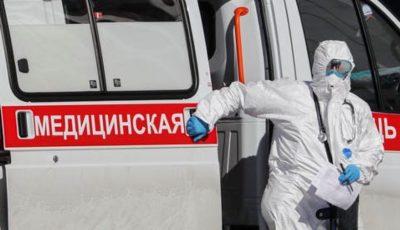 Coronavirus: Rusia a depășit pragul de 15.000 de decese asociate infecției