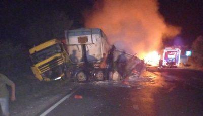 Accident teribil la Soroca. Un tânăr de 30 de ani a ars de viu