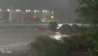 Video! Uraganul Laura, cel mai puternic din ultimii 160 de ani, a ajuns în Louisiana