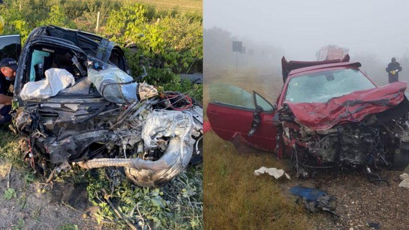 Foto: Accident grav lângă Anenii Noi: un mort și 2 răniți