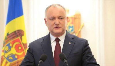 Președintele Igor Dodon urmează să efectueze o călătorie în Grecia