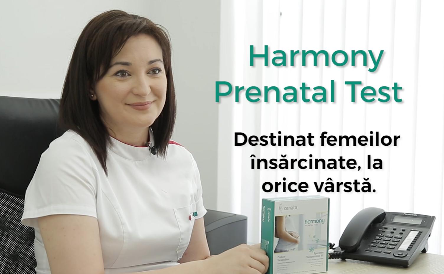 Testul Prenatal Harmony: Depistează mai mult de 70% din toate anomaliile, inclusiv Sindromul Down, Sindromul Edwards, Sindromul Patau