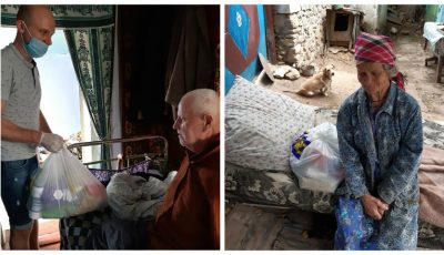 Un moldovean stabilit în SUA a oferit ajutor bătrânilor din satul natal