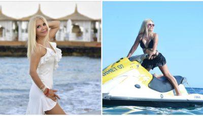 Ludmila Bălan, poze inedite din vacanță, în costum de baie! Artista are un corp de invidiat