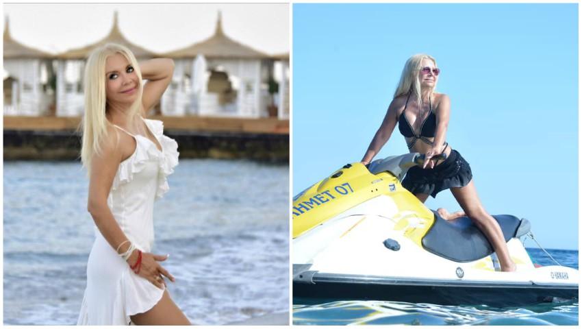 Foto: Ludmila Bălan, poze inedite din vacanță, în costum de baie! Artista are un corp de invidiat