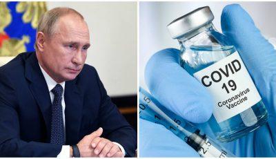 Vladimir Putin: Primul vaccin din lume împotriva noului Coronavirus a fost înregistrat în Rusia, în această dimineaţă