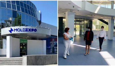 Numărul persoanelor internate la Centrul Covid-19 de la Moldexpo este în creștere