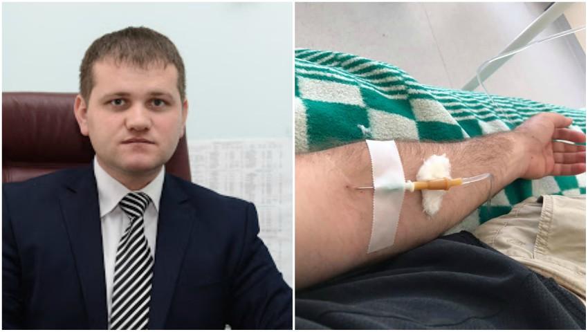 Valeriu Munteanu a fost internat cu pneumonie severă Covid-19. Mesajul său către oameni!