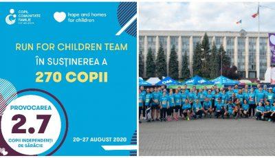 Iulian Bercu va alerga 270 de km în 7 zile, în campania Run for Children, pentru a-i ajuta pe copiii afectați de sărăcie! Alătură-te și tu inițiativei!